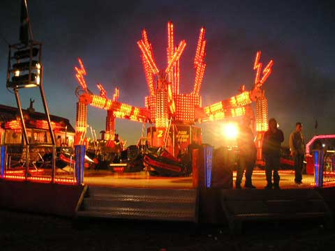 Orbitor funfair hire