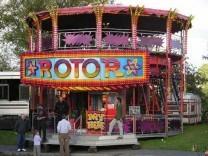 Rotor funfair hire