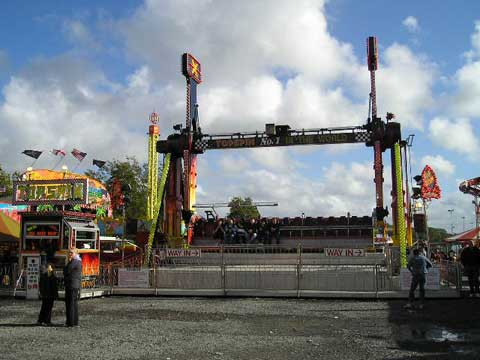 Latest Top Spin - Funfair Hire