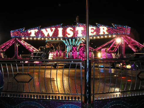 Twister funfair hire