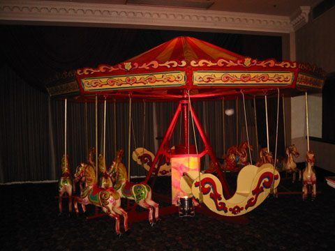 Small Carousel Hire
