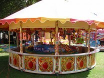 Round Stall - Victorian Stall Hire